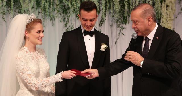 Erdoğan Denizli'de nikah törenine katıldı