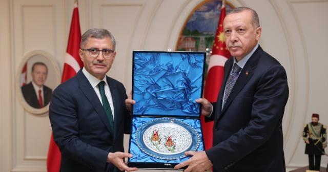 Erdoğan Üsküdar Belediyesini ziyaret etti
