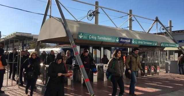 """İZBAN'dan """"grev"""" açıklaması"""