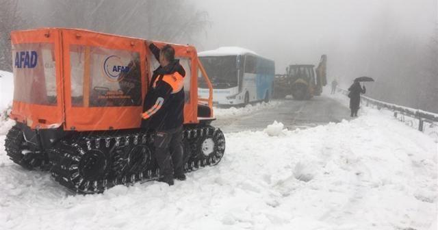 Kartepe'de 75 kişiyi AFAD ekipleri kurtardı