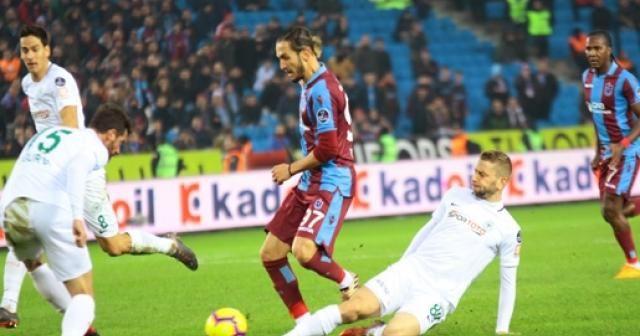 Trabzon'da ilk yarı gol yok