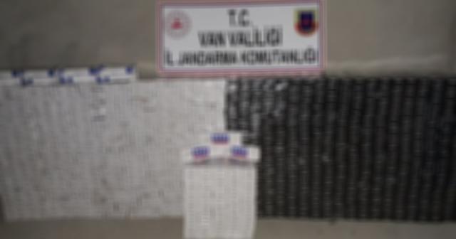 11 bin 150 paket kaçak sigara ele geçirildi