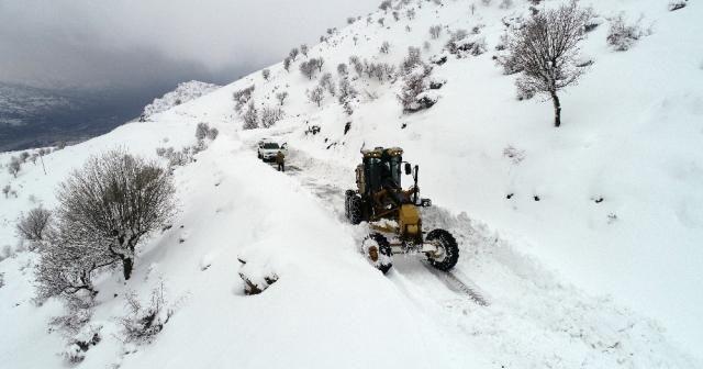 315 köy ve mezra yolu ulaşıma kapandı