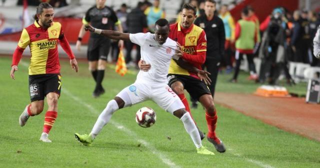 Antalyaspor ile Göztepe'den gol düellosu