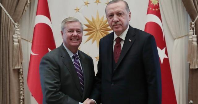 Erdoğan, ABD'li Senatör Graham'ı kabul etti