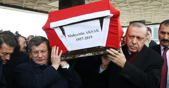 Erdoğan cenazeye katıldı