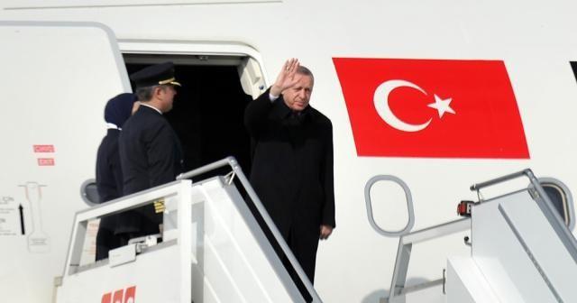 Erdoğan Rusya'ya gitti