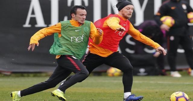 Galatasaray Göztepe hazırlıklarına ara vermeden başladı