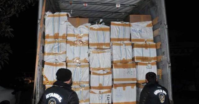 İstanbul'da 77 bin 236 şişe kaçak parfüm ele geçirildi