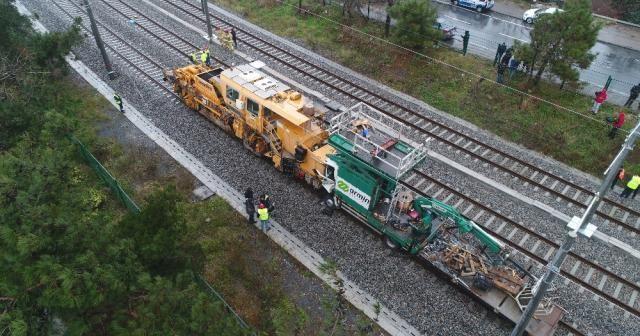 İstanbul'da Banliyö hattında kaza
