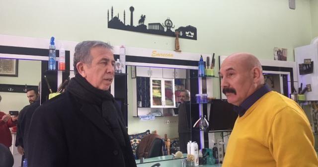 Mansur Yavaş Ankara Kalesi esnafını ziyaret etti