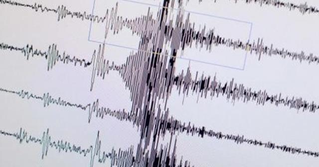 Marmaris açıklarında 4.9 büyüklüğünde deprem