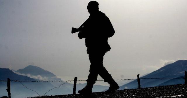 Teröristlerin taciz ateşlerine karşılık verildi