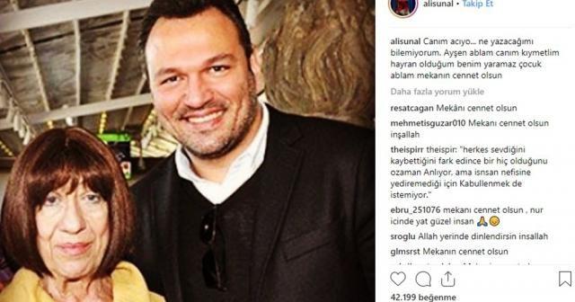 Usta Oyuncu Ayşen Gruda'nın vefatı ünlüleri yasa boğdu