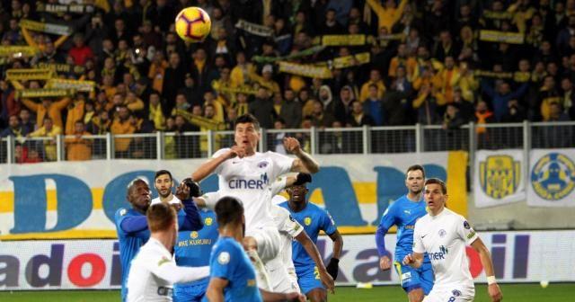 Spor Toto Süper Lig: MKE Ankaragücü: 3 - Kasımpaşa: 0 (Maç sonucu)