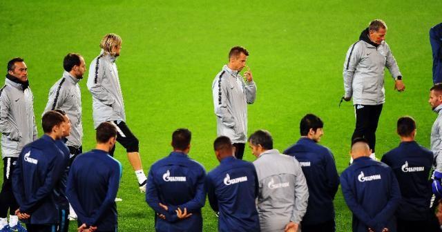 Zenit, Fenerbahçe maçı hazırlıklarını tamamladı