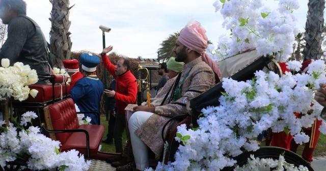 Antalya'da paha biçilemeyen Hint düğünü
