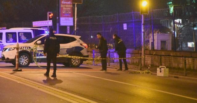 Beşiktaş'ta gece kulübü önünde silahlı kavga; 1 yaralı