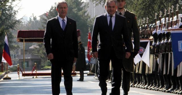 Rus Bakan Şoygu Ankara'da