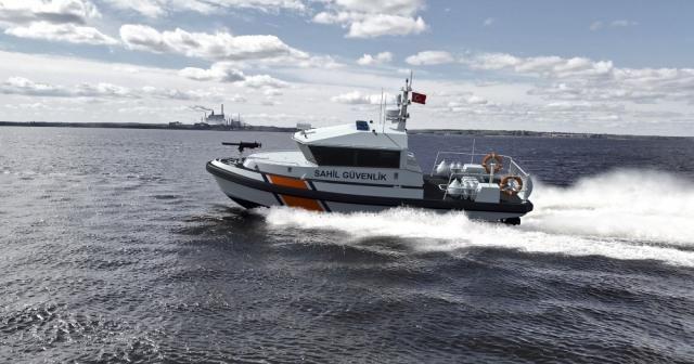 Sahil Güvenlik'e 105 kontrol botu