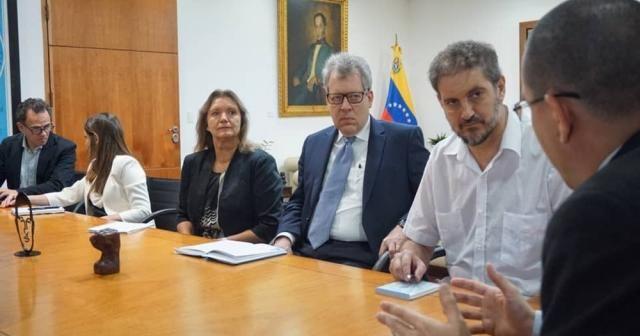 Birleşmiş Milletler heyeti Venezuela'da