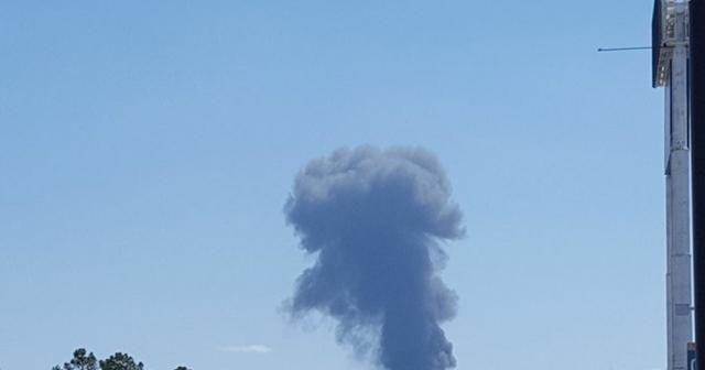 Çin'de askeri uçak düştü: 2 ölü
