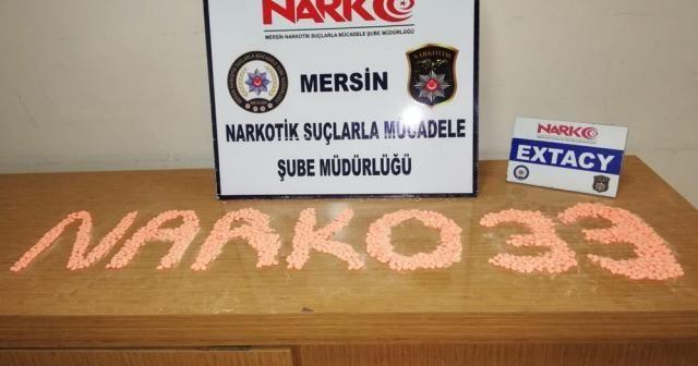 2 araçta 6 bin 17 ectacy uyuşturucu hap ele geçirildi