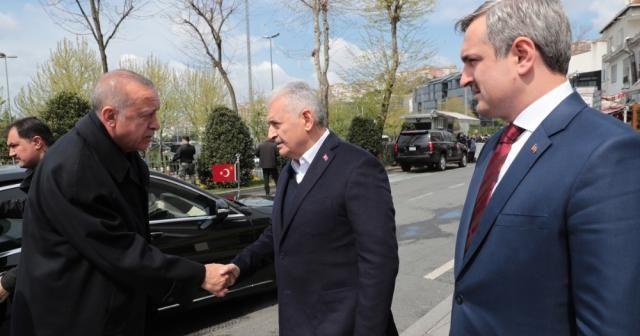 Cumhurbaşkanı Erdoğan belediye başkanları ile görüştü