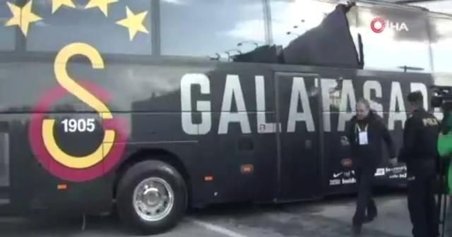 Galatasaray derbi için stada geldi