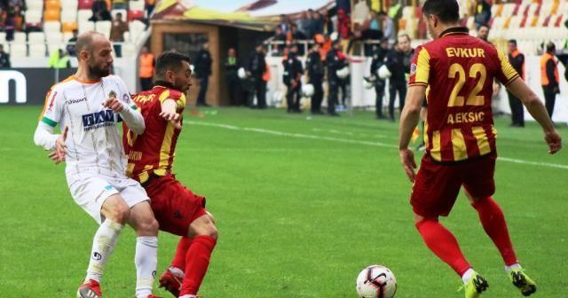 Spor Toto Süper Lig: E. Yeni Malatyaspor: 1 - Aytemiz Alanyaspor: 1 (Maç sonucu)