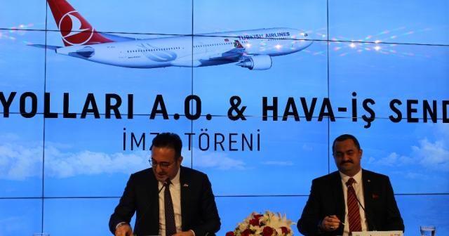 THY ve Hava- İş Sendikası Toplu İş Sözleşmesini imzaladı