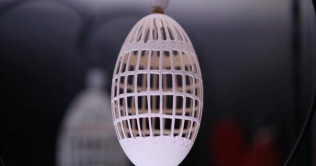 Yumurta kabukları sanat eserine dönüşüyor