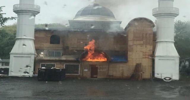 ABD'deki yanan caminin kundaklandığı açıklandı