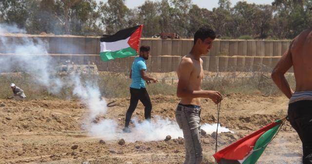 Gazze'deki Nakbe gösterilerinde 65 kişi yaralandı