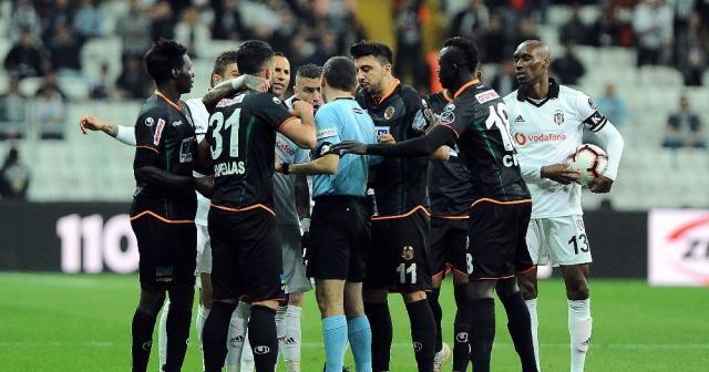 Spor Toto Süper Lig: Beşiktaş: 2 - Aytemiz Alanyaspor: 1 (Maç sonucu)