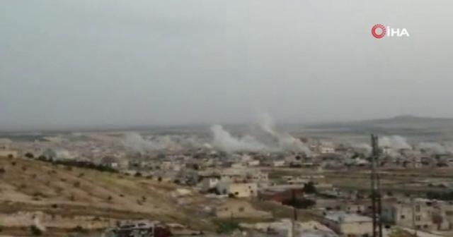 Suriye ve Rus Uçakları  bomba yağdırdı: 9 ölü