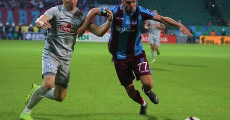 Trabzonspor galibiyetle bitirdi