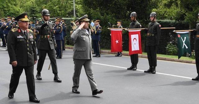 Arnavutluk Genelkurmay Başkanı'ndan Orgeneral Güler'e ziyaret