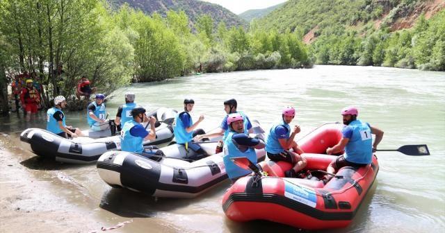 Dünya Rafting Şampiyonası heyecanı, Tunceli'de başladı