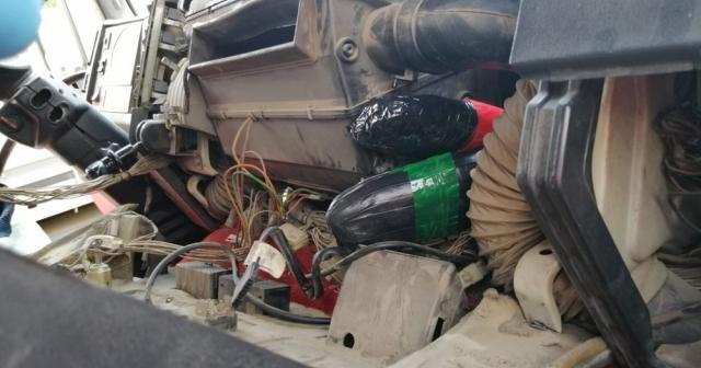 Irak'tan gelen tırda 35 kilo eroin çıktı