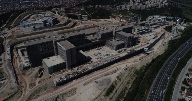 Kocaeli Şehir Hastanesi'nin yüzde 62'si tamamlandı