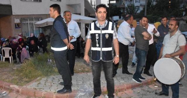 Magandalara karşı her düğüne bir polis