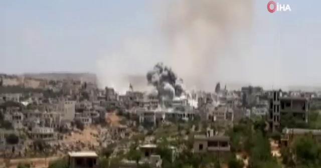 Suriye'deki çatışmada 3'ü sivil olmak üzere 38 kişi öldü