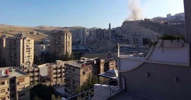 Suriye'nin başkenti Şam'da patlama sesleri