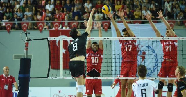 Türkiye Dörtlü Final'e yükseldi