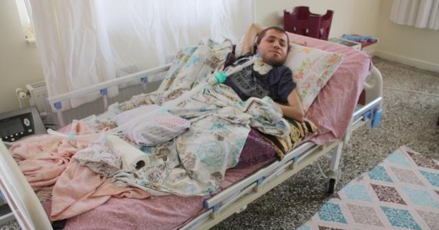 Yatağa bağımlı gençten Cumhurbaşkanı Erdoğan'dan tedavi isteği