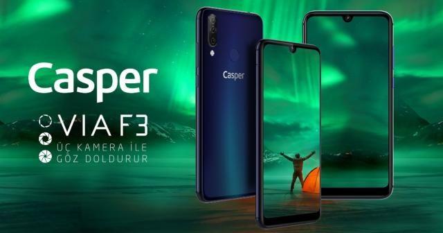 Casper'dan yeni telefon: Casper VIA F3
