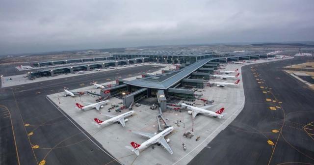 İstanbul Havalimanı'nda 3. pist çalışmaları devam ediyor