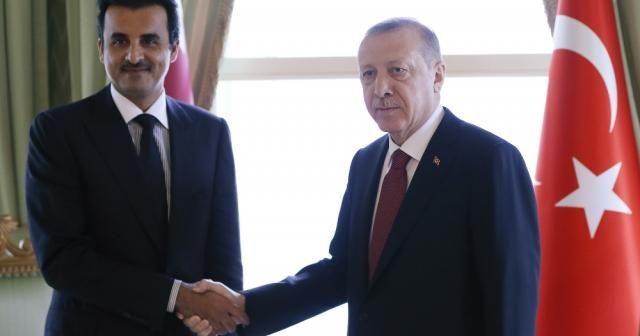 Katar Emir'inden, Cumhurbaşkanı Erdoğan'a 15 Temmuz mesajı