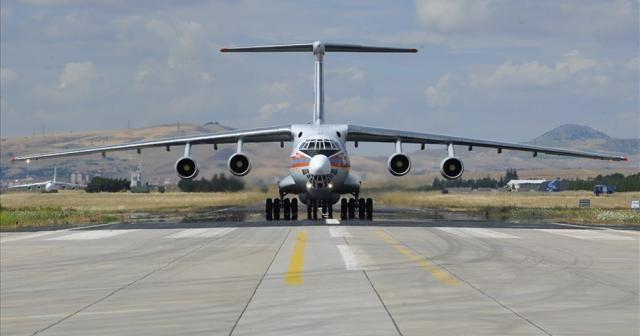 Milli Savunma Bakanlığı S-400'ün gelişiyle ilgili fotoğraflar paylaştı